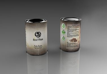 front and back view of a 3d modeled can