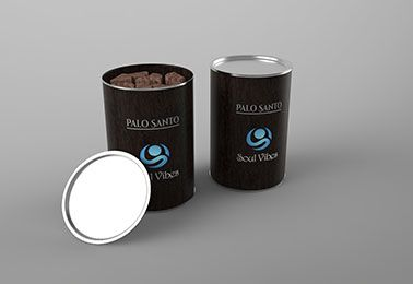 3d model of a can with palo santo