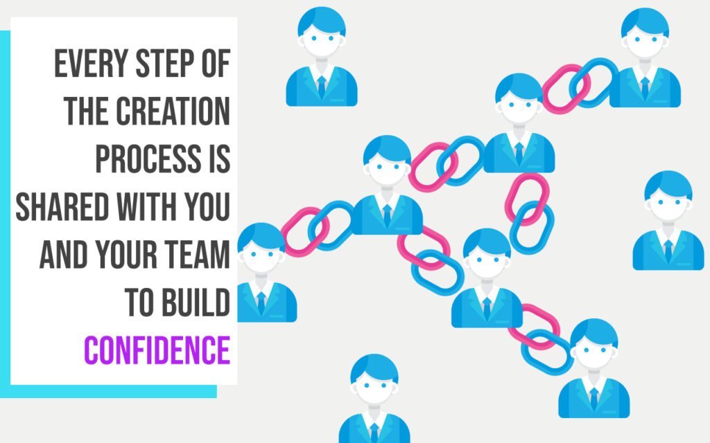 build confidence with your team